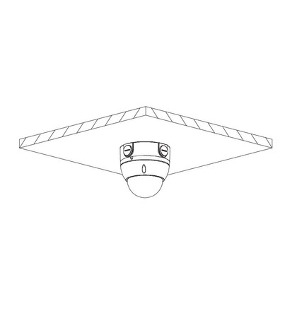 Dahua IPC-HDBW1230EP-0280B dome IP kamera
