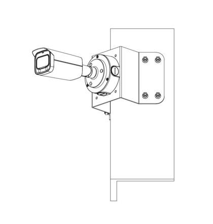 Dahua IPC-HFW5541T-ASE-0600B 5 Mpx kompaktní IP kamera