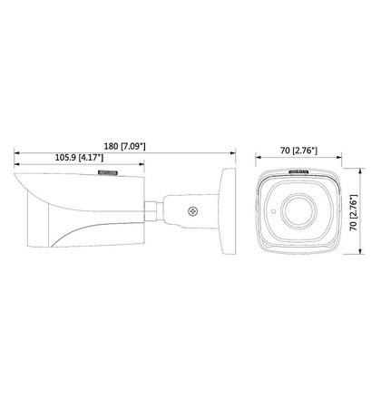 Dahua IPC-HFW4231EP-SE-0600B 2 Mpx kompaktní IP kamera
