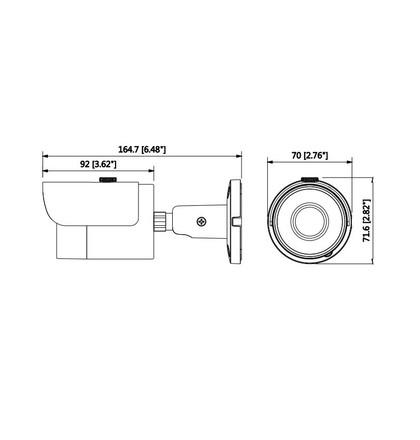 Dahua IPC-HFW1230SP-0360B IP kompaktní kamera