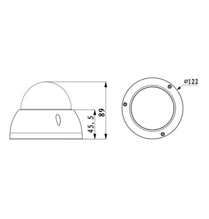 Dahua IPC-HDBW5231RP-ZE-27135 2Mpx dome IP kamera