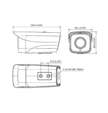 Dahua IPC-HFW4230MP-4G-AS-I2-0360B IP kompaktní kamera